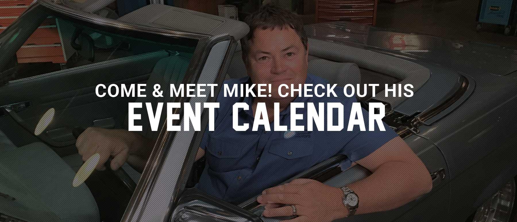 Mikes Event Calendar