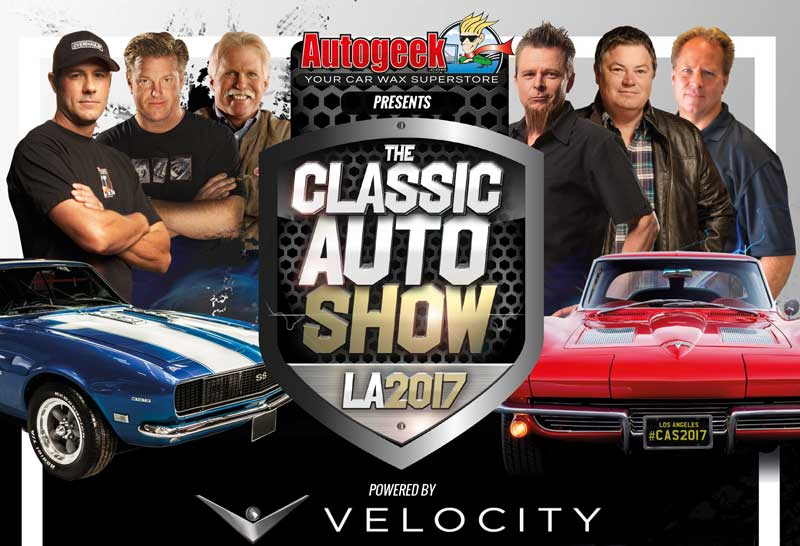 Mike Brewer To Appear At LAs Inaugural Classic Auto Show - Car tv shows