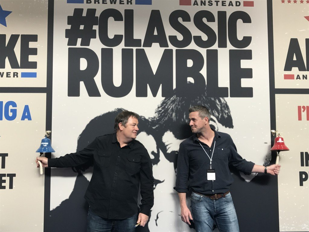 Mike and Ant square off in a #ClassicRumble for charity