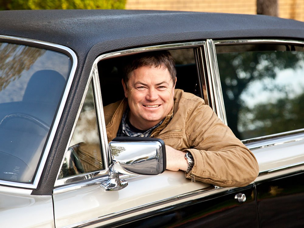 Mike Brewer TV | Photo Gallery | Mike Brewer in Rolls-Royce