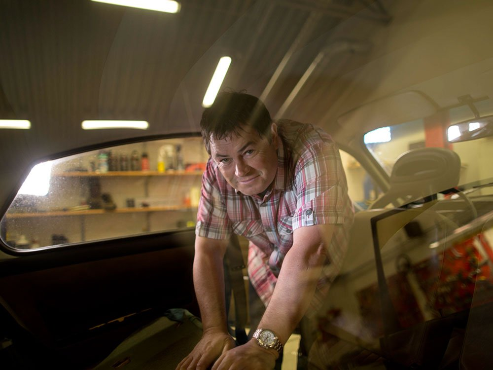 Mike Brewer TV | Photo Gallery | Mike Brewerinside a restoration
