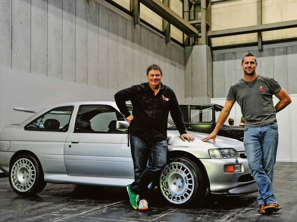 Mike Brewer TV | Photo Gallery | Mike Brewer and Ant Anstead at Wheeler Dealers