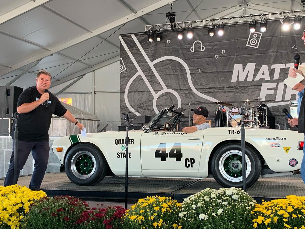 Mike Brewer TV | Photo Gallery | Mike Brewer presenting at Auctions