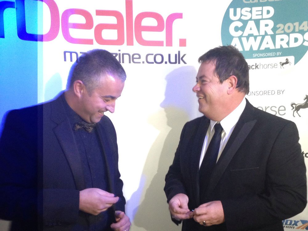 Mike Brewer TV | Photo Gallery | Mike Brewer at Used Car Awards