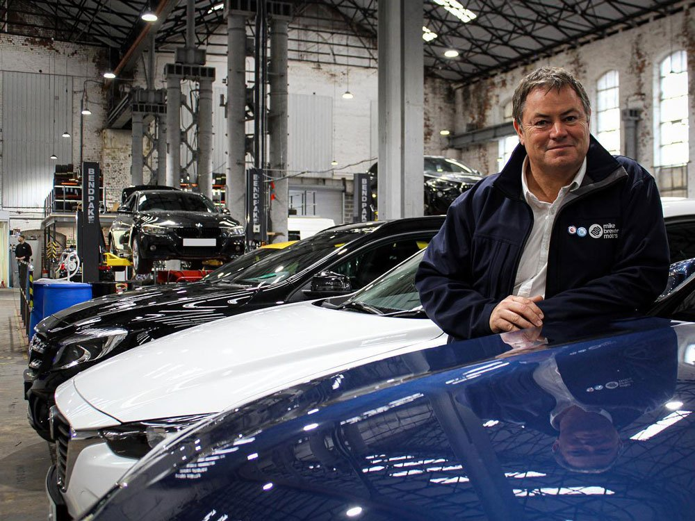 Mike Brewer TV | Photo Gallery | Mike Brewer at Mike Brewer Motors HQ