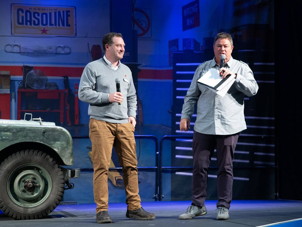Mike Brewer TV | Photo Gallery | Mike Brewer at NEC Classic Motor Show