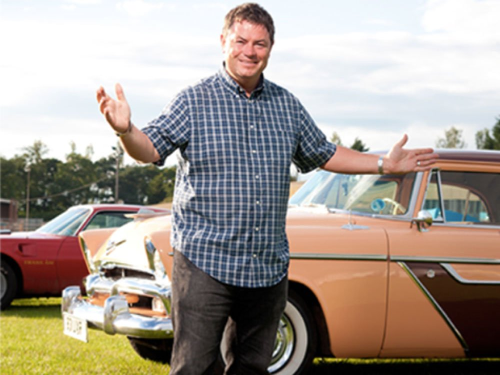 Mike Brewer TV | Photo Gallery | Mike Brewer at Classic Car Show