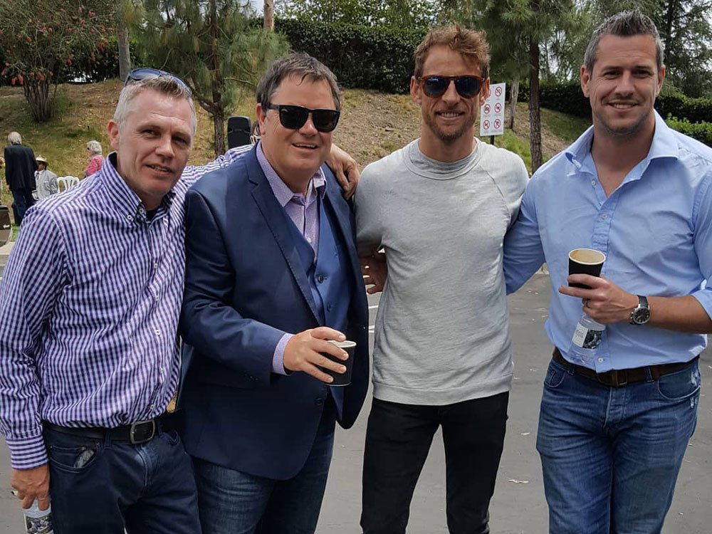 Mike Brewer TV | Photo Gallery | Mike Brewer with Ant Anstead and Jenson Button