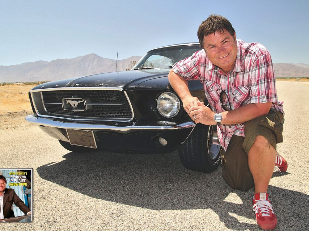 Mike Brewer TV | Photo Gallery | Mike Brewer with his Mustang