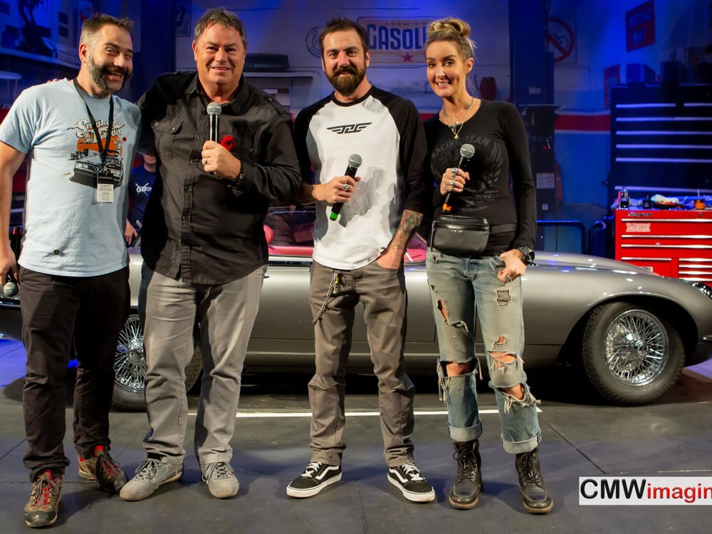 Mike Brewer TV | Photo Gallery | Mike Brewer presenting at Practical Classics Restoration Show