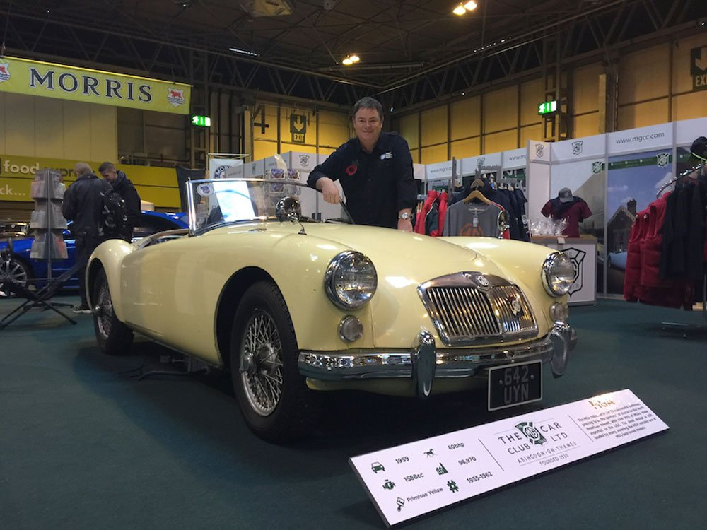 Mike Brewer TV | Photo Gallery | Mike Brewer at Lancaster Insurance Classic Motor Show